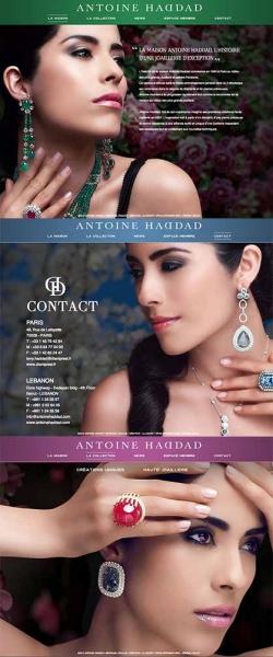 ... de notre client <b>Antoine Haddad</b> qui conçoit de la joaillerie de luxe. - addad